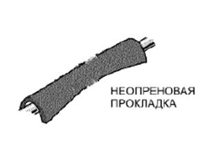 Неопреновая прокладка (B6782-008)